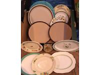 Selection of Vintage Plates