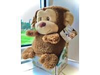 'My Pet Blankie' Monkey child security blanket £43