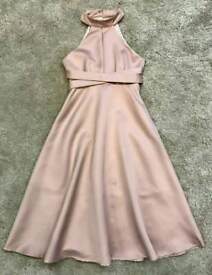 Evening dress high neck