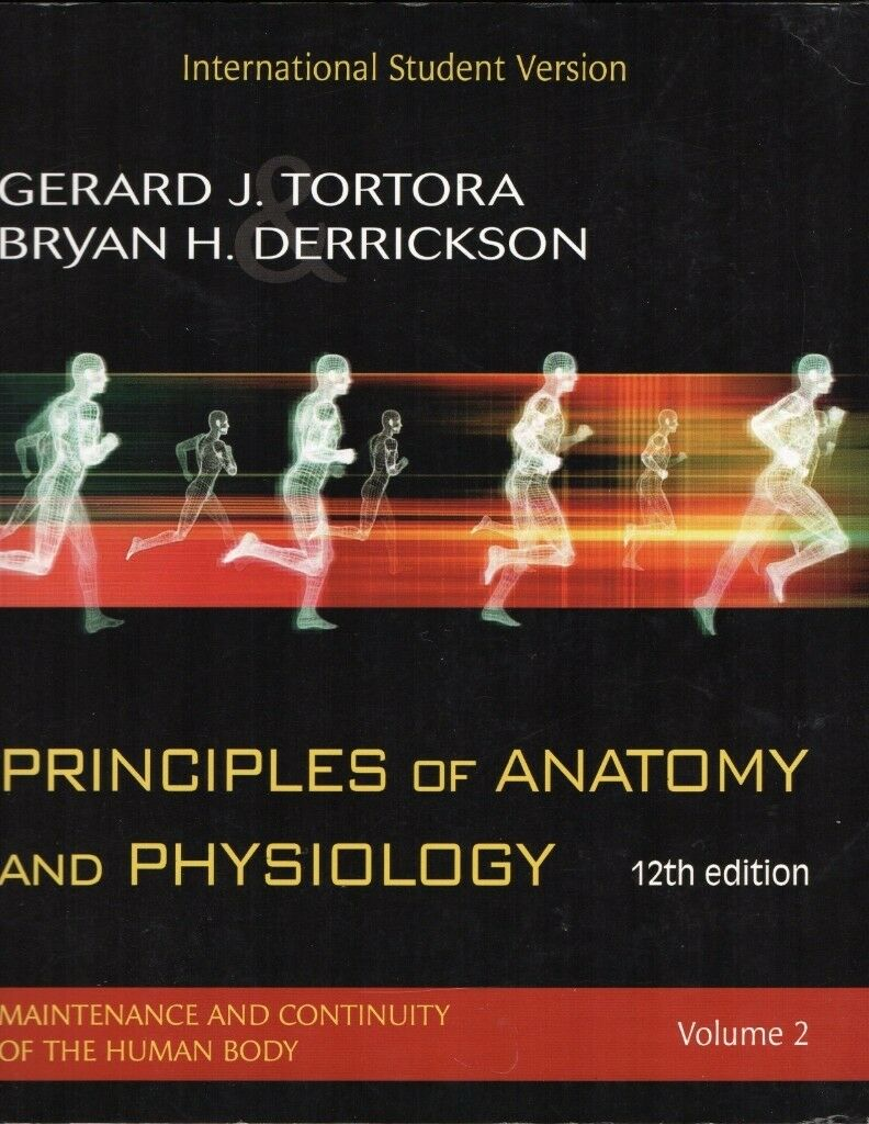Principles of Anatomy and Physiology 12th Edition Volume 1 & Volume ...