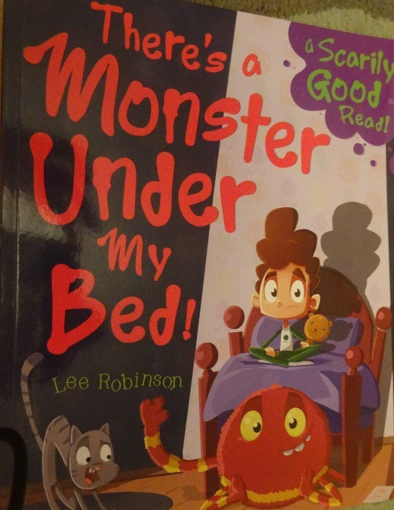 New There's A Monster Under My Bed! children kids story book bedtime only £1 ideal xmas gift