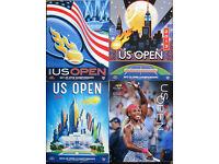 Tennis Programmes - Wimbledon, US Open, ATP Finals and more. £1.25 each