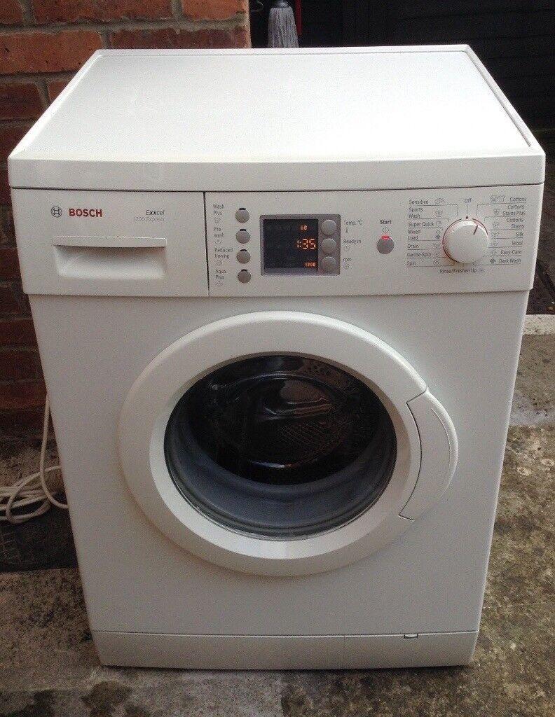 Bosch Exxcel 1200 Express Washing Machine