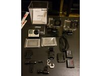 Gopro Hero 4 Silver , immaculate condition with accessories , £140