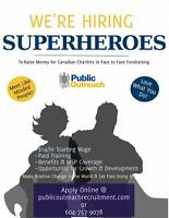 Fundraise with our Phone Team & Make a Living!! ($14/hr)