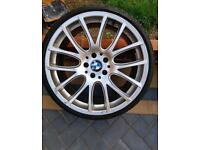 Bmw 20inch alloys with new tyres