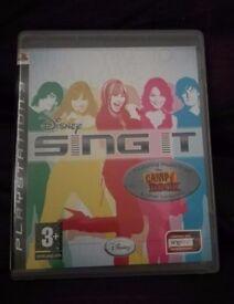Disney Sing It PS3 game