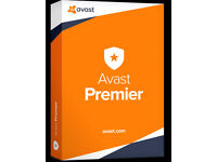 Avast Premier 2018 Internet Security & AntiVirus License Key - 3 Years / 5 PC's
