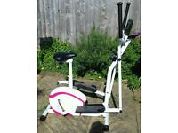 Davina 2 in 1 exercise bike and cross trainer