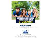 Host families needed for International students in zone 2, 3 & 4!