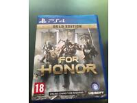 PS4 for Honor game - special edition