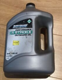 Quicksilver Performance 4 Stroke Marine Engine Oil SAE 10W-30 - 4 Litres
