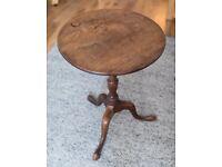 Antique pedestal table