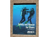 As New Safety and Rescue book for divers