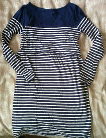 Nursing dress, Jojo Maman Bebe, size small