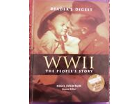 NEW & UNUSED. READERS DIGEST WWII THE PEOPLE'S STORY.