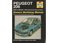 Peugeot 206: 2002 to 2006 Petrol and Diesel Owners Workshop Manual