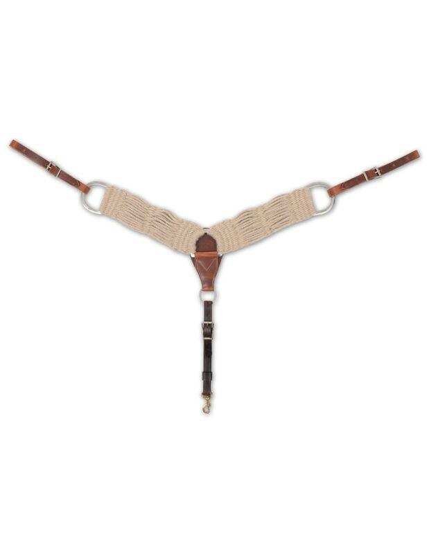 Martin Saddlery Breast Collar Mohair 31 Strand Soft Purple BC300MOHAIR