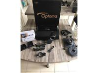Optoma hd300x Projector 1080HD Full Active 3D projector Excellent Condition