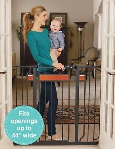 New, Regalo Home Accents Extra Tall Designer Baby Gate - Model #0320 (openbox)