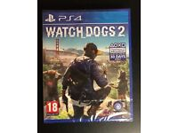 WATCH DOGS 2 FOR PLAYSTATION 4 - BRAND NEW - UNOPENED AND SEALED