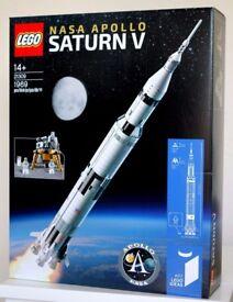 LEGO IDEAS 21309 NASA APOLLO SATURN V Brand New Sealed