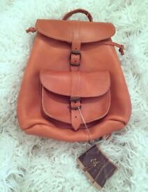Must go - GRAFEA Leather Mini Backpack/ New with Tags Never used + Tags