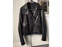 Authentic leather jacket XS