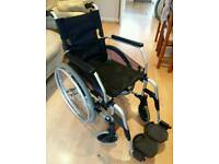 Greencare Self Propelled wheelchair