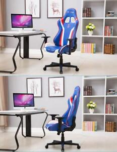 Red&Blue&White Office Chairs Gaming Chair Racing Seats 251039