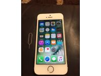 Apple IPhone 5S White Gold Factory Unlocked