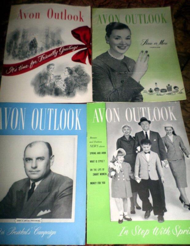 Avon Outlook Magazines in the Year 1956 12 Magazines Ephemera Scrapbooking