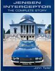 JENSEN INTERCEPTOR, THE COMPLETE STORY - JOHN TIPLER - BOOK