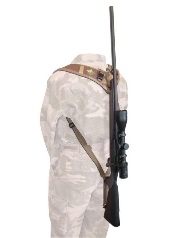 Heavy Hauler Sling Backpacker Double Shoulder Swivel Brown 80
