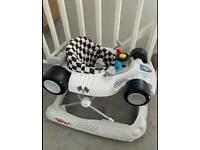 babylo racing car walker - EXCELLENT CONDITION!!