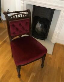 Georgian dinning chair (pair)