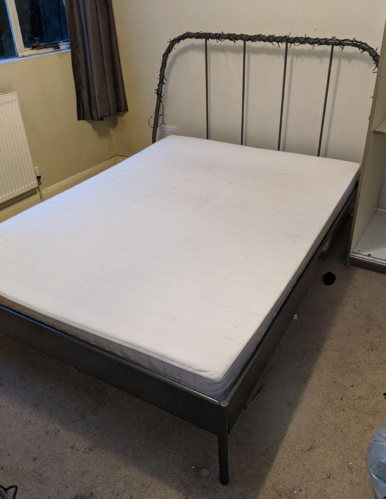 Ikea bedframe and mattress | in Epsom, Surrey | Gumtree