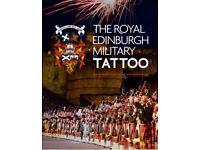 4 Edinburgh Tattoo Tickets Friday 24th August 9pm*final flyover*