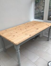 Shabby Chic Style Farmhouse Dining Table SOLD