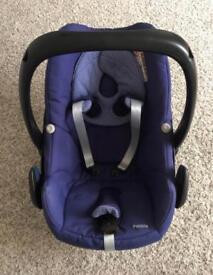 Maxi-Cosi Pebble car seat in River Blue