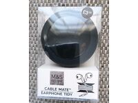 Cable Mate - Earphone Tidy from M&S - Brand New and boxed - £2