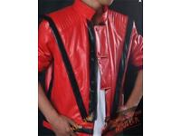 High Quality Michael Jackson Thriller Jacket Halloween Outfit Fancy Dress
