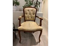 Amazing vintage dressing armchair
