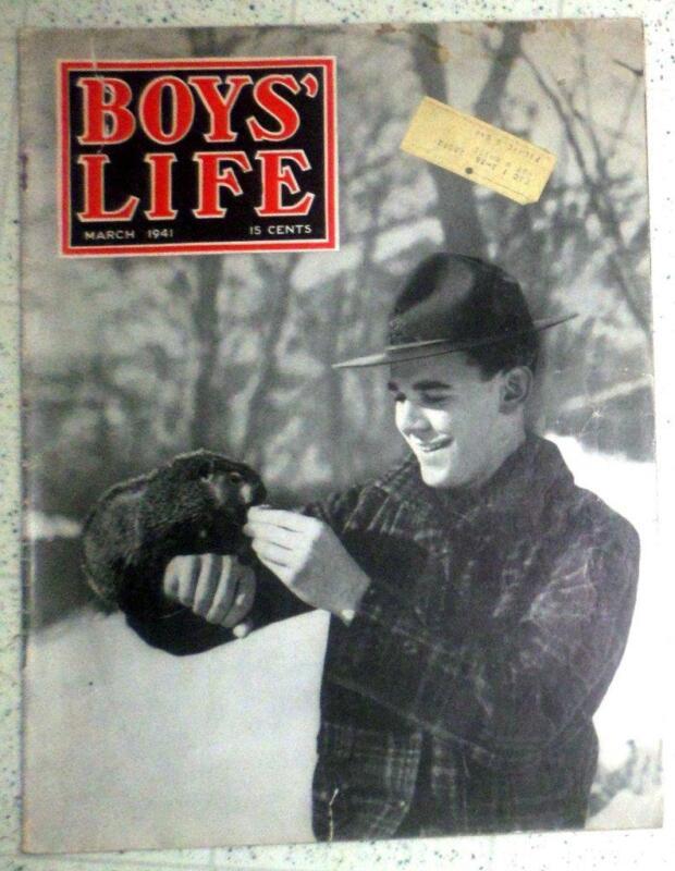 Vintage BSA March 1941 Boys