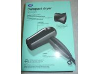 Boots Compact 1000W hairdryer