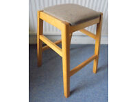 Beech Framed Stool - Possible Upholstery Project