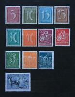 Briefmarken DR 1921, Lot ab MiNr. 158 (WZ 1), postfr./ungebr. Schleswig-Holstein - Schmalfeld Vorschau