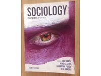 Variety of second hand Sociology books for sale all at 5.00 each