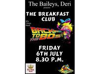 The Breakfast Club at the Baileys, Deri
