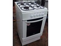 Iberna HCG500W Gas Cooker with Single Oven